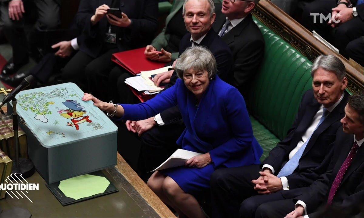 Zoom – Brexit : les caricatures interdites de Theresa May