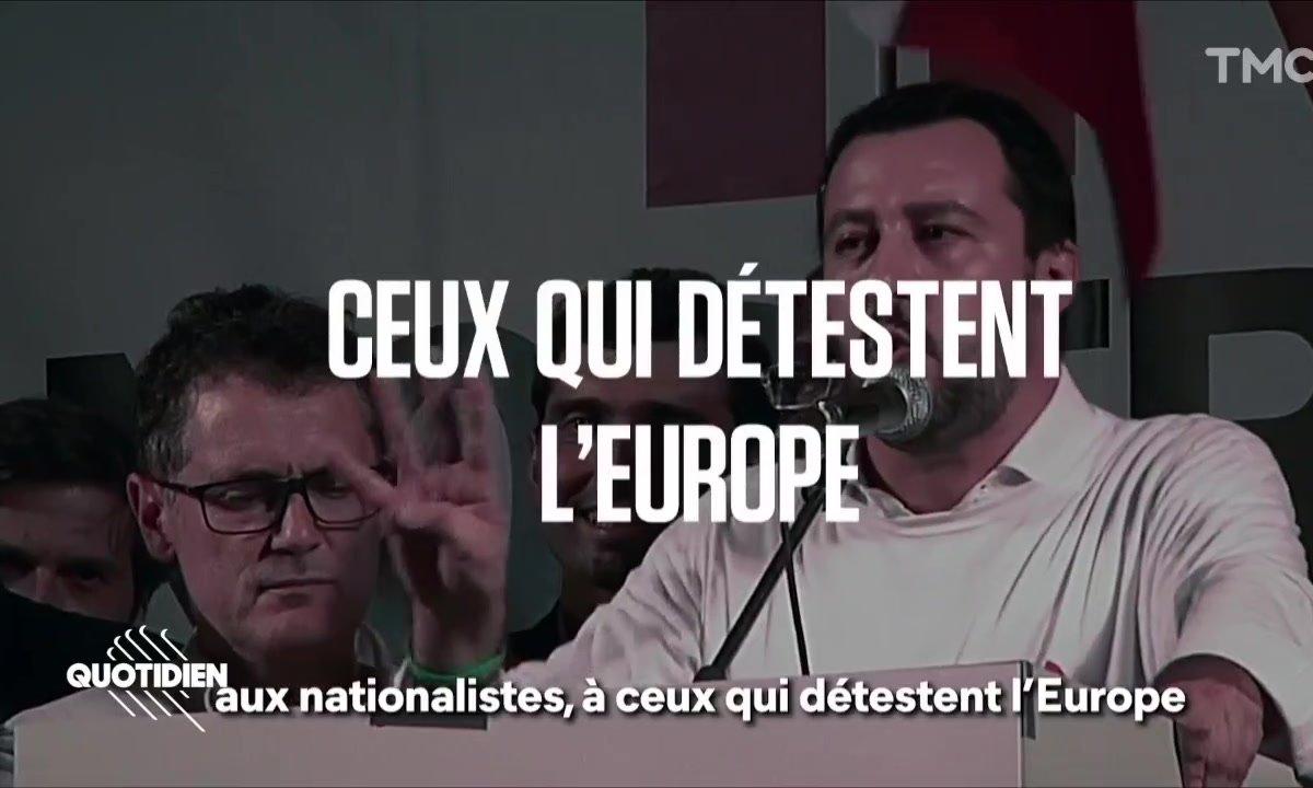Zoom : le clip bien anxiogène des LREM pour les élections européennes