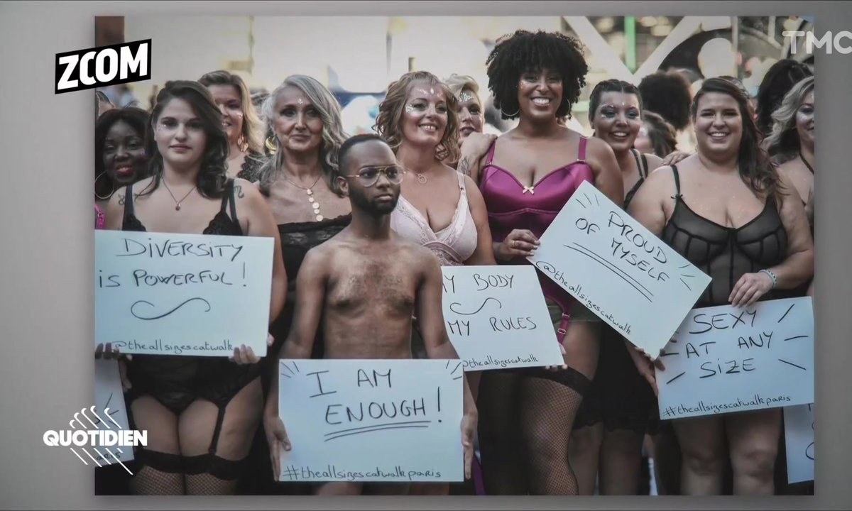 Zoom : des défilés Body Positive à Paris et New York