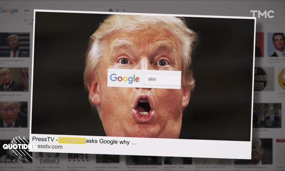 Zoom : Donald Trump, l'idiot de Google