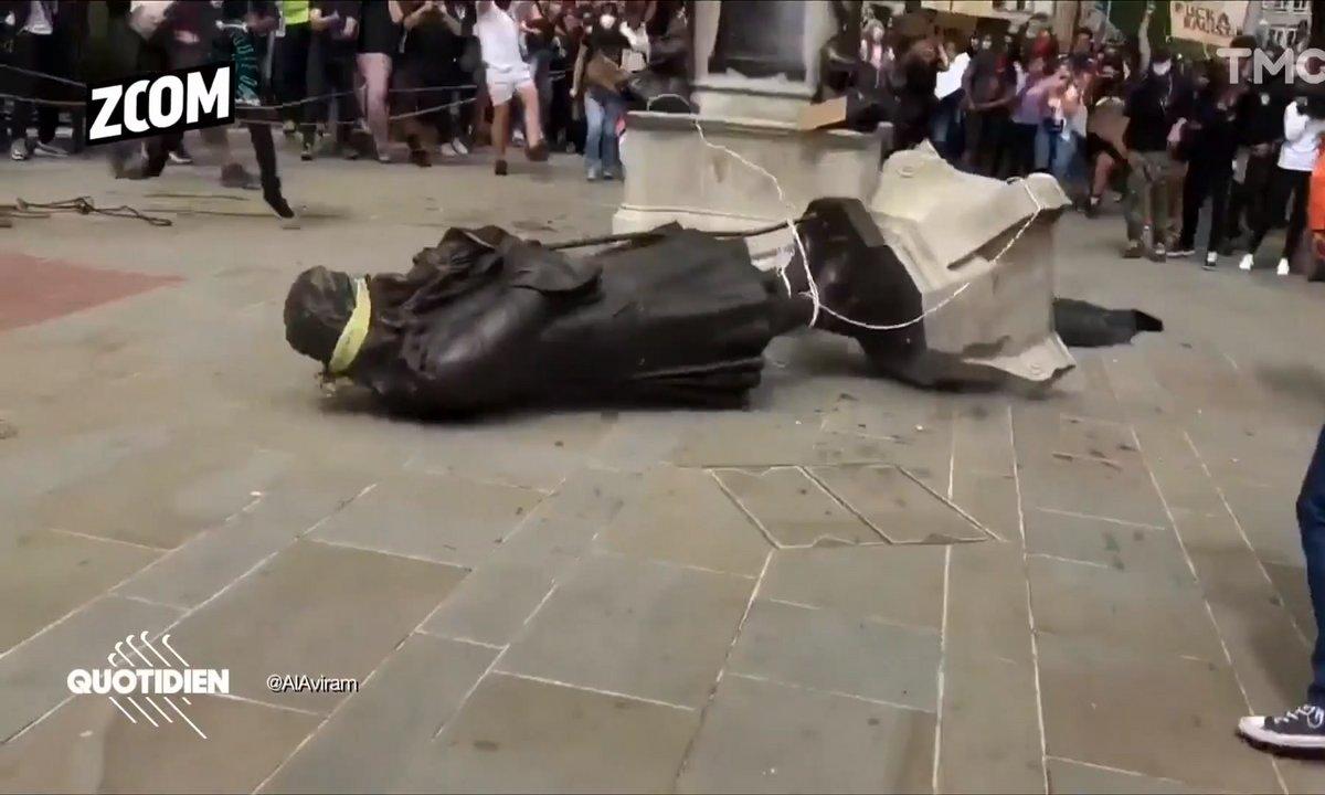 Zoom : faut-il enlever les statues et rebaptiser les rues qui relèvent de la traite des Noirs ?