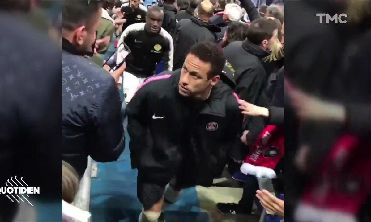 Zoom : guerre de communication entre Neymar et le supporter qu'il a giflé