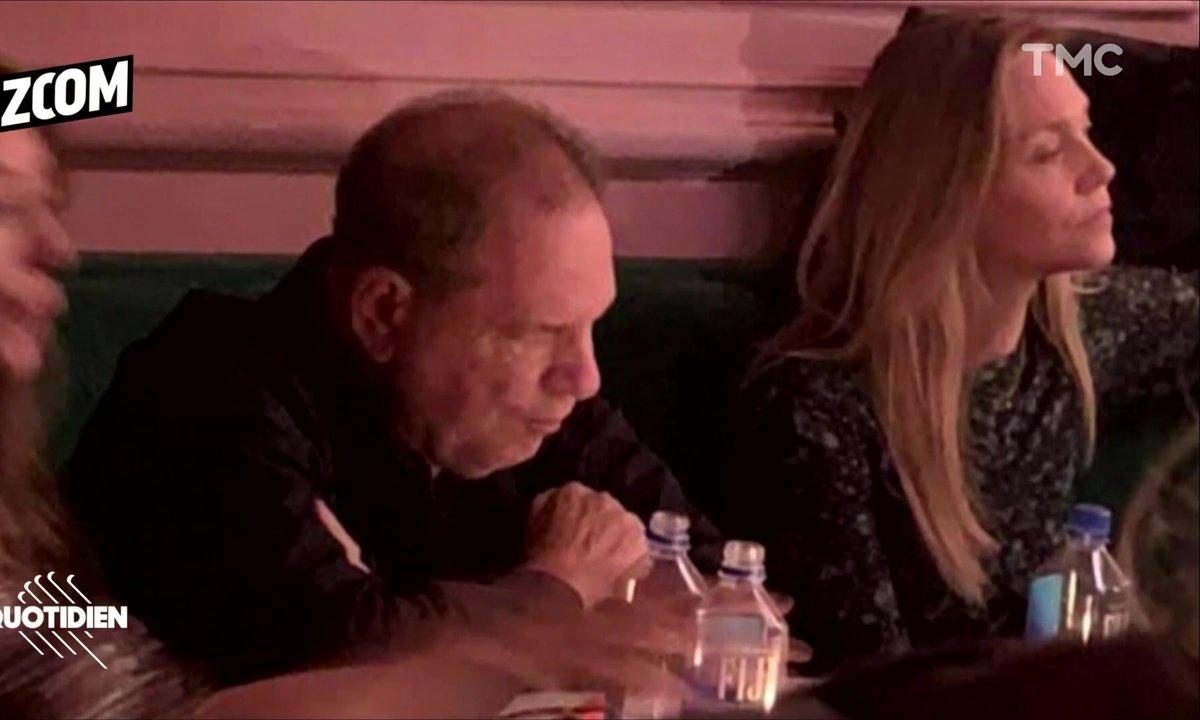 Zoom : Harvey Weinstein fait son retour dans un bar de New-York