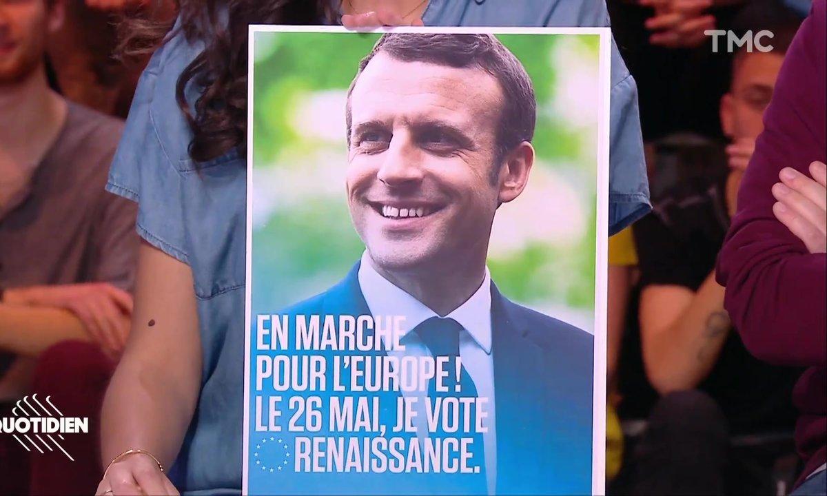 Zoom : dans l'impasse, LREM supprime Nathalie Loiseau de ses affiches au profit d'Emmanuel Macron