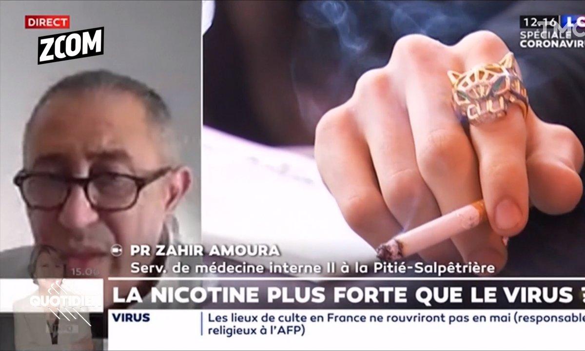 Zoom : la nicotine serait bénéfique contre le Covid-19 ? Pas si vite...
