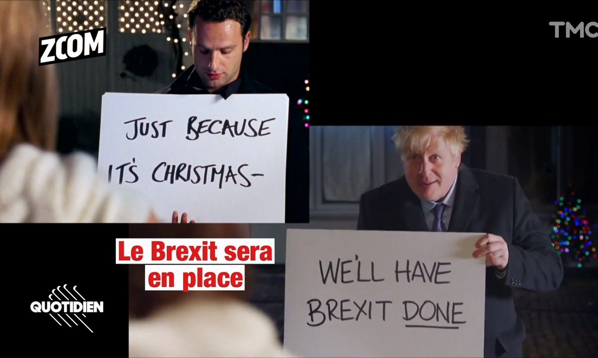 Zoom : la parodie WTF de Love Actually par Boris Johnson