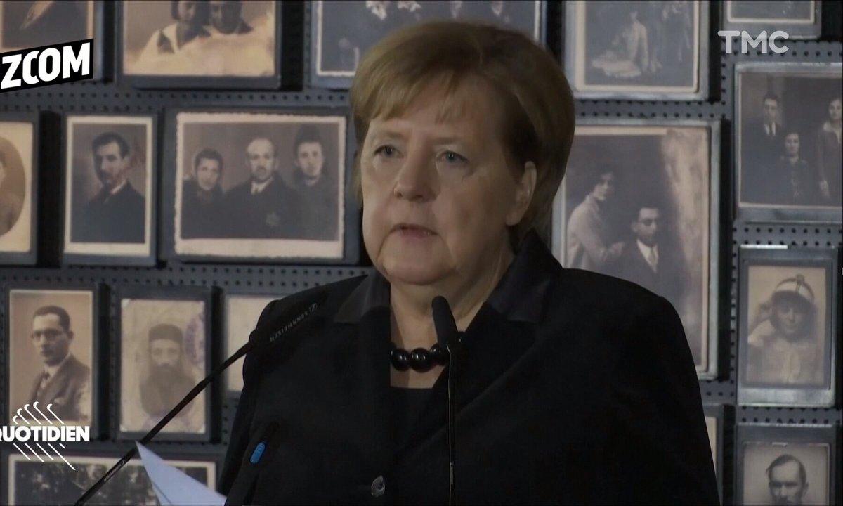 Zoom : le discours d'Angela Merkel à Auschwitz