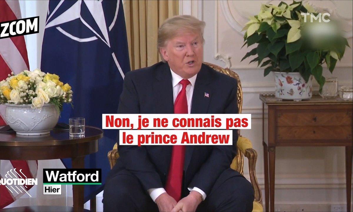 Zoom : le vilain mensonge de Donald Trump sur le prince Andrew