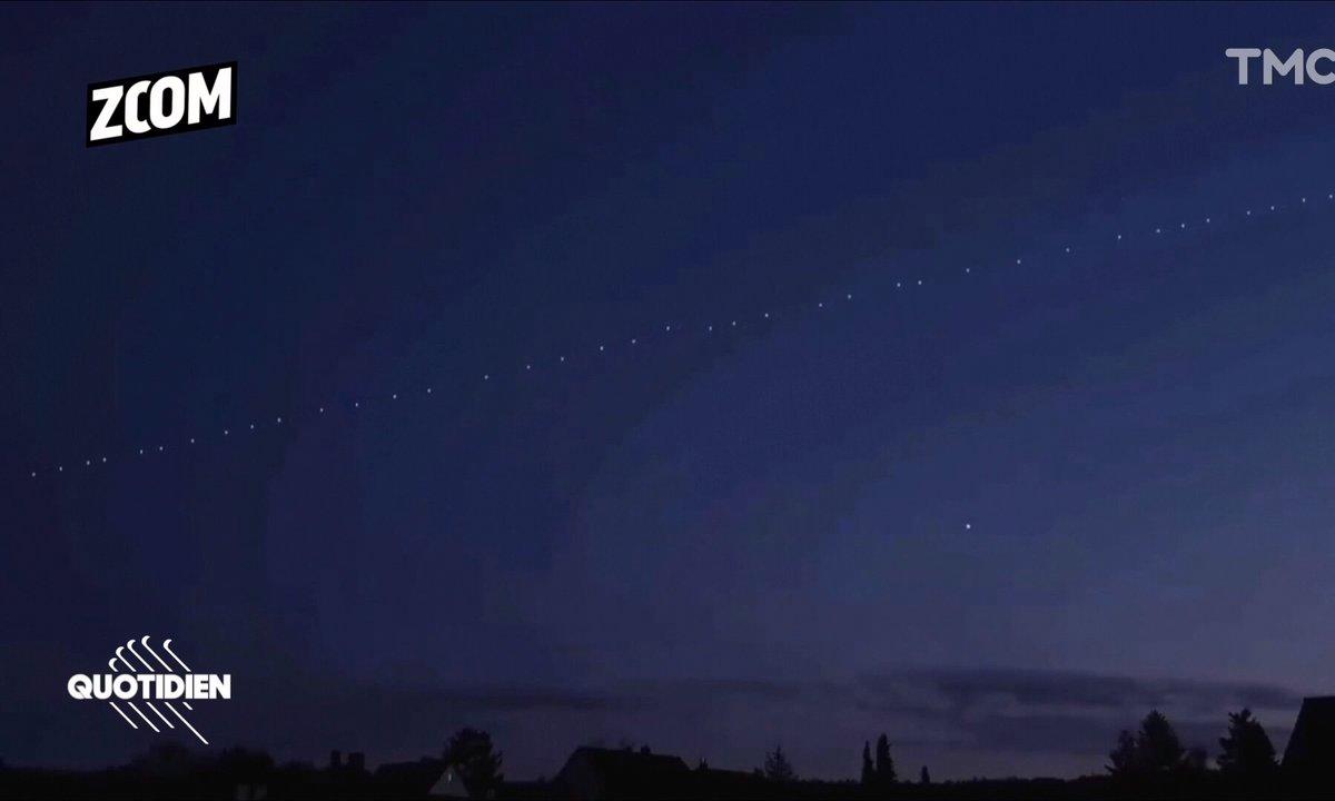 Zoom : les curieux satellites d'Elon Musk font polémique