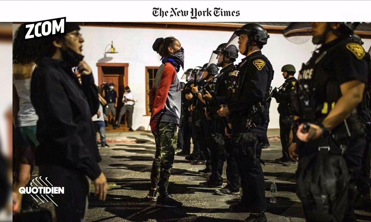 Zoom : les photos de la révolte américaine