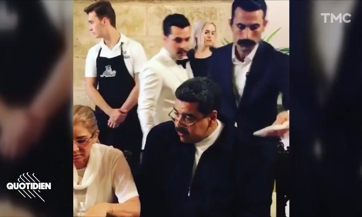 Zoom : Nicolas Maduro fait scandale dans le restaurant de Salt Bae