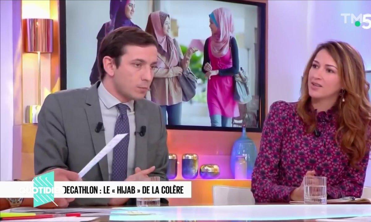 Zoom : non, le serre-tête n'a rien à voir avec un hijab