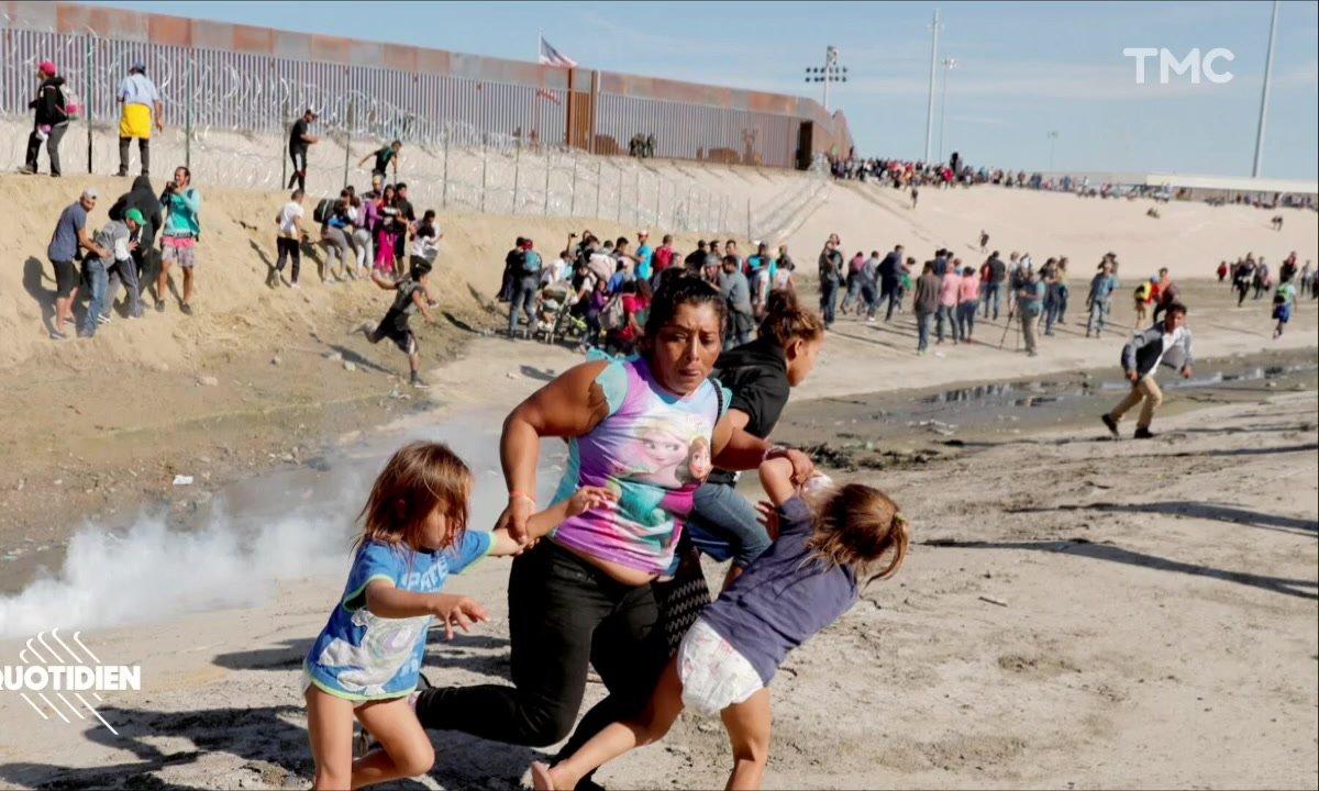 Zoom : la photo choc du Washington Post sur les migrants honduriens