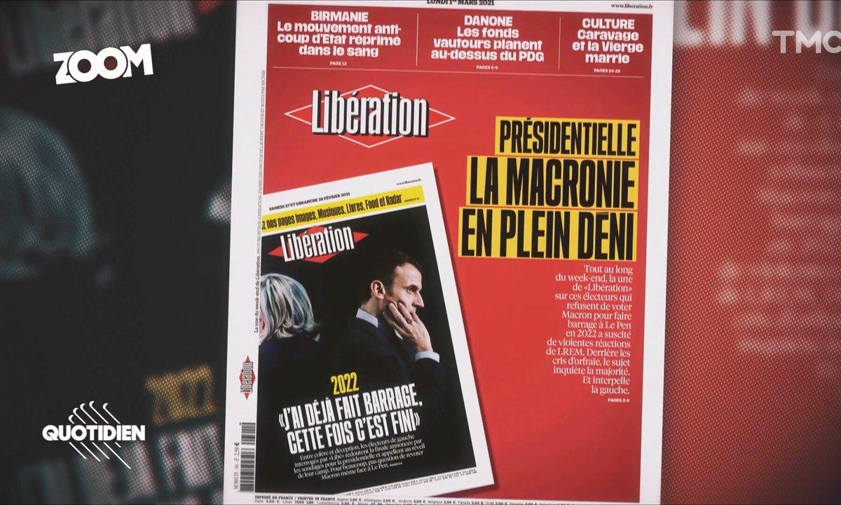 Zoom – Polémique après la Une de Libération : la lassitude des électeurs de gauche n'est pas nouvelle