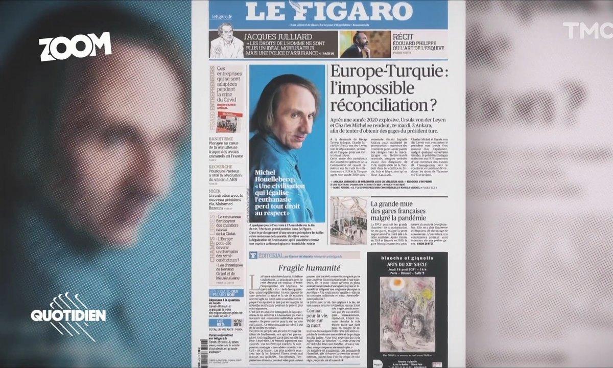 Zoom : pourquoi Michel Houellebecq est-il si opposé à l'euthanasie ?