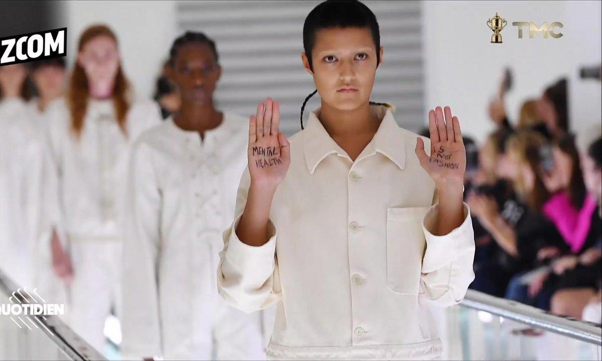 Zoom : la protestation silencieuse d'un mannequin contre Gucci
