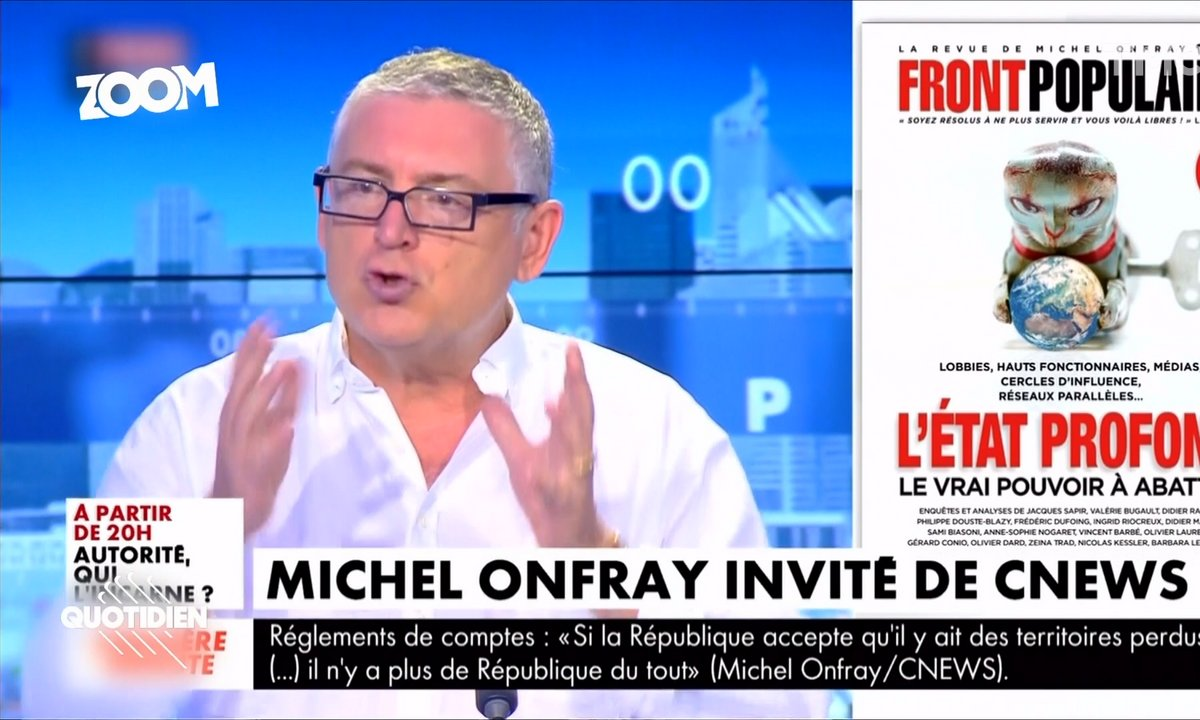 Zoom : quelle influence a vraiment Michel Onfray ?