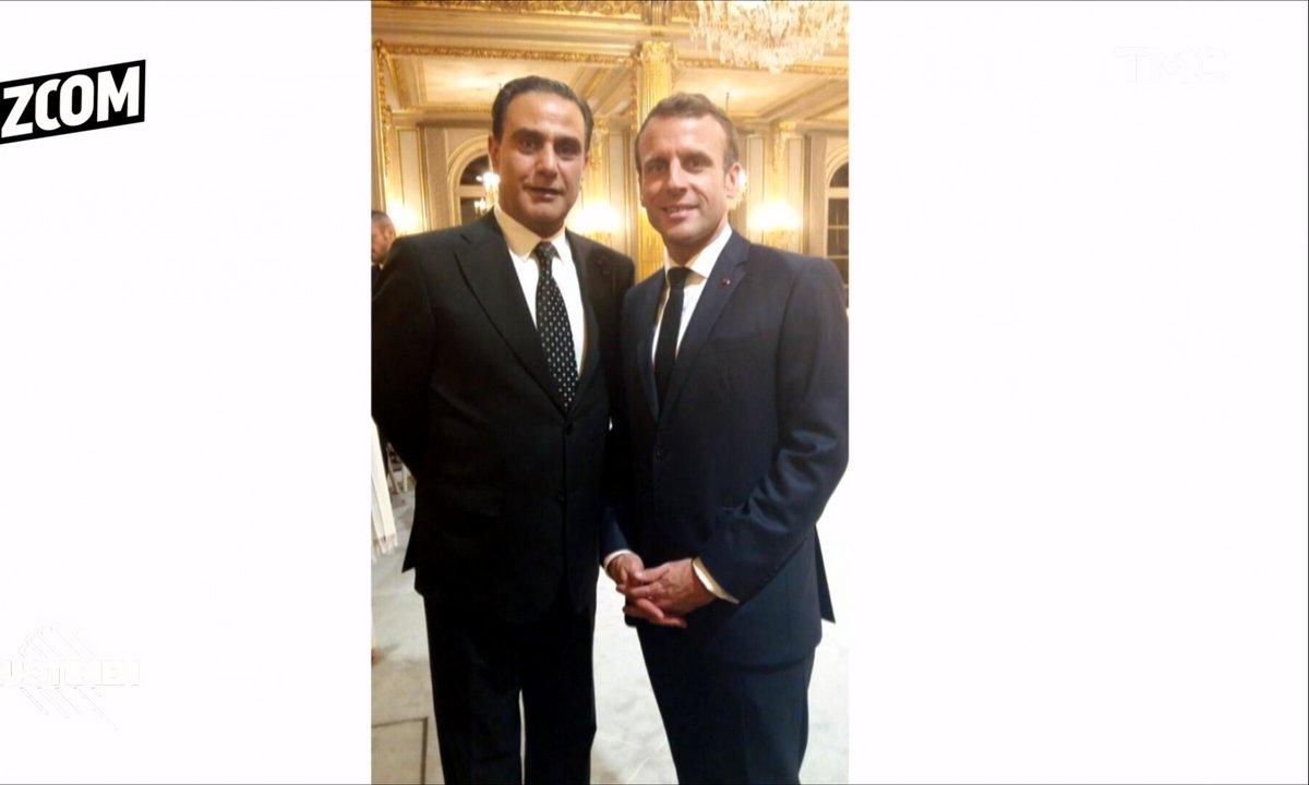 Zoom : qui est Elie Hatem, l'homme qui pose auprès de Macron ?