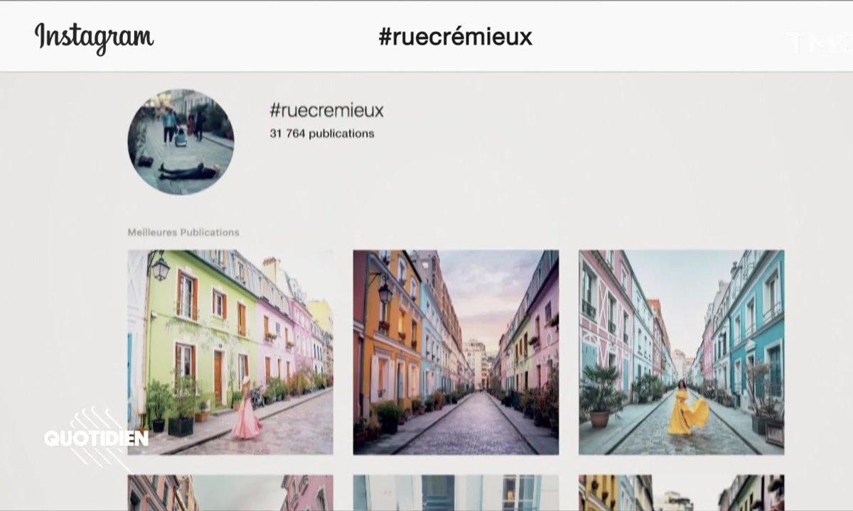 Zoom : la rue la plus Instagramable de Paris veut en finir avec les touristes