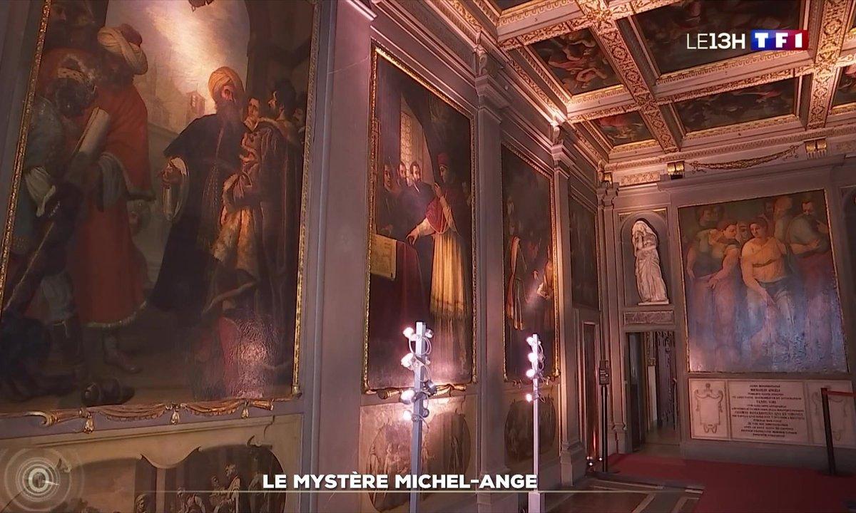 Zoom sur le mystère de Michel-Ange - Le Journal du week-end | TF1
