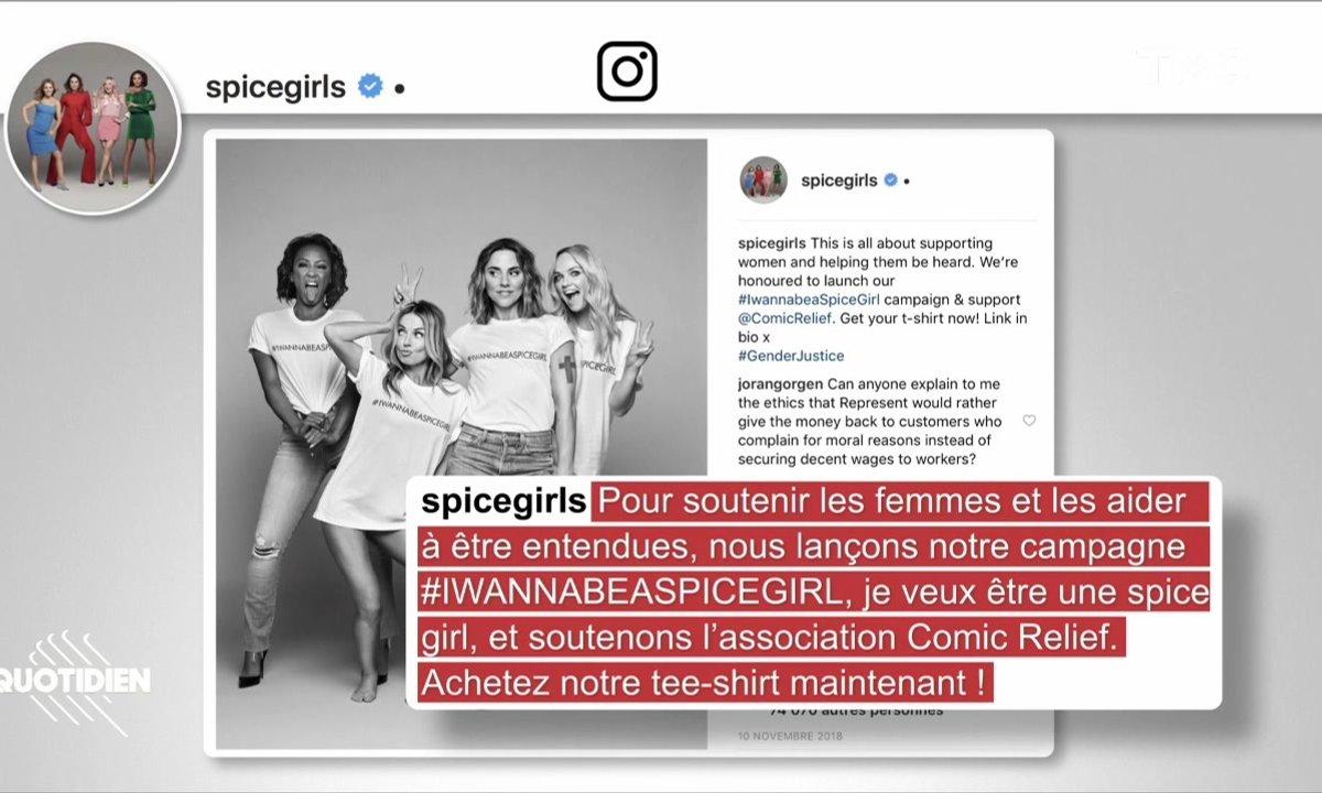 Zoom : le t-shirt féministe des Spice Girls… fabriqué par des femmes exploitées au Banglasdesh