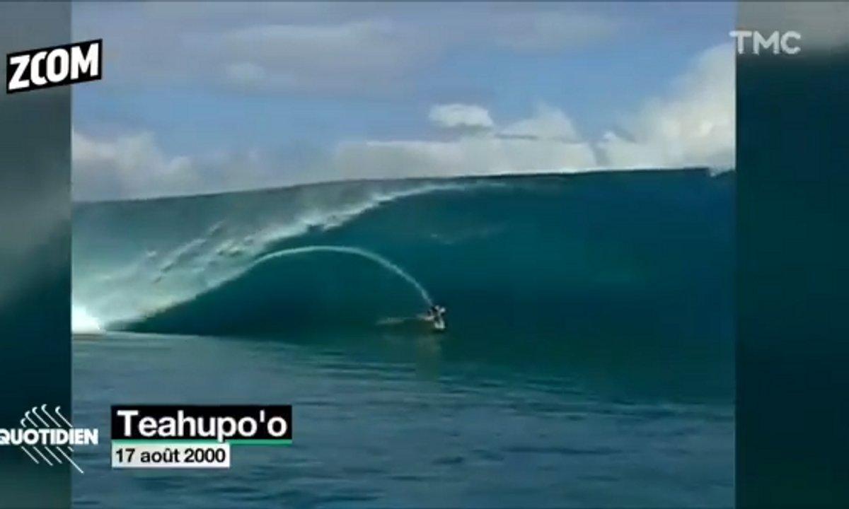 Zoom : Teahuppo'o, la vague mythique sera aux JO 2024