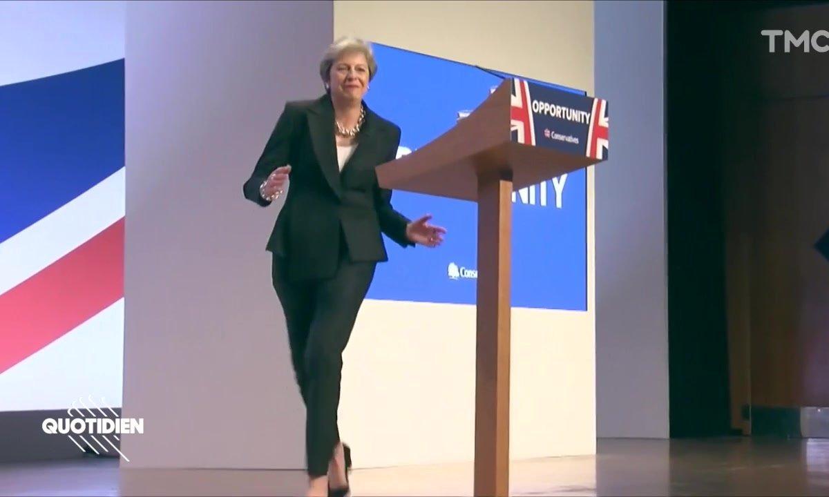Zoom : Theresa May, dancing queen