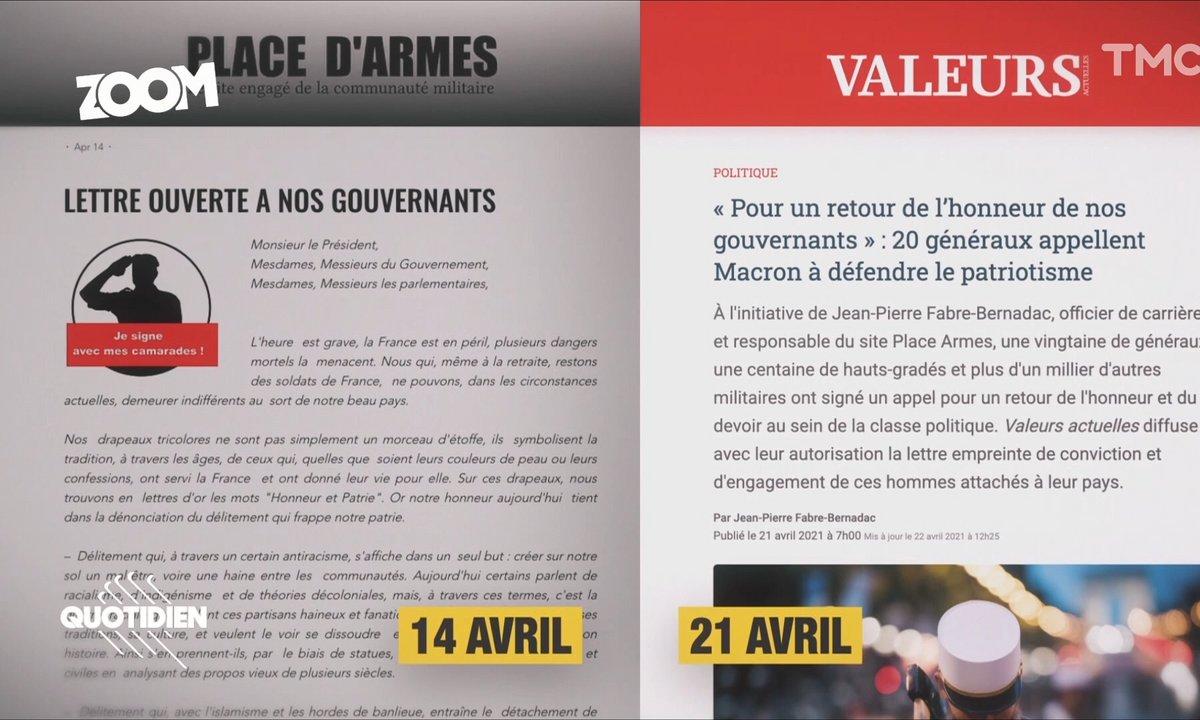 Zoom - Tribune polémique de Valeurs actuelles : appel au putsch ou stratégie éditoriale ?