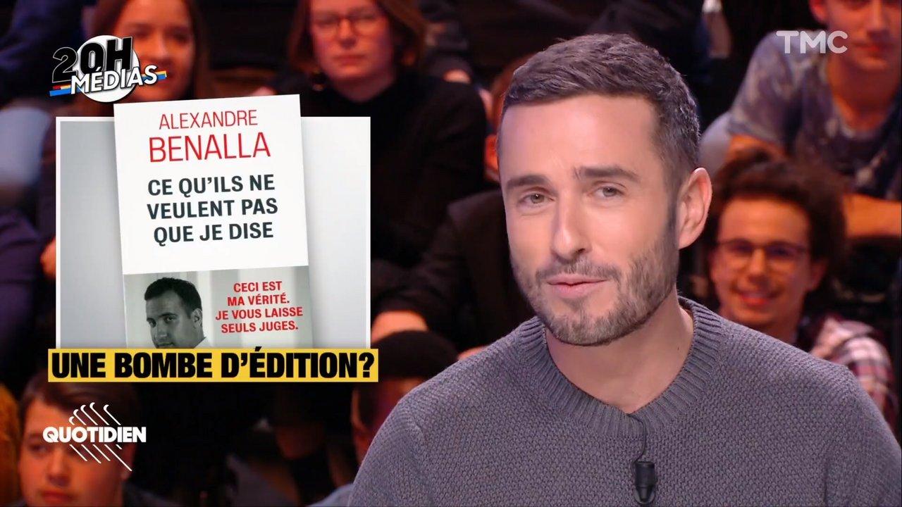 20h Medias La Com Secrete Autour Du Livre D Alexandre Benalla