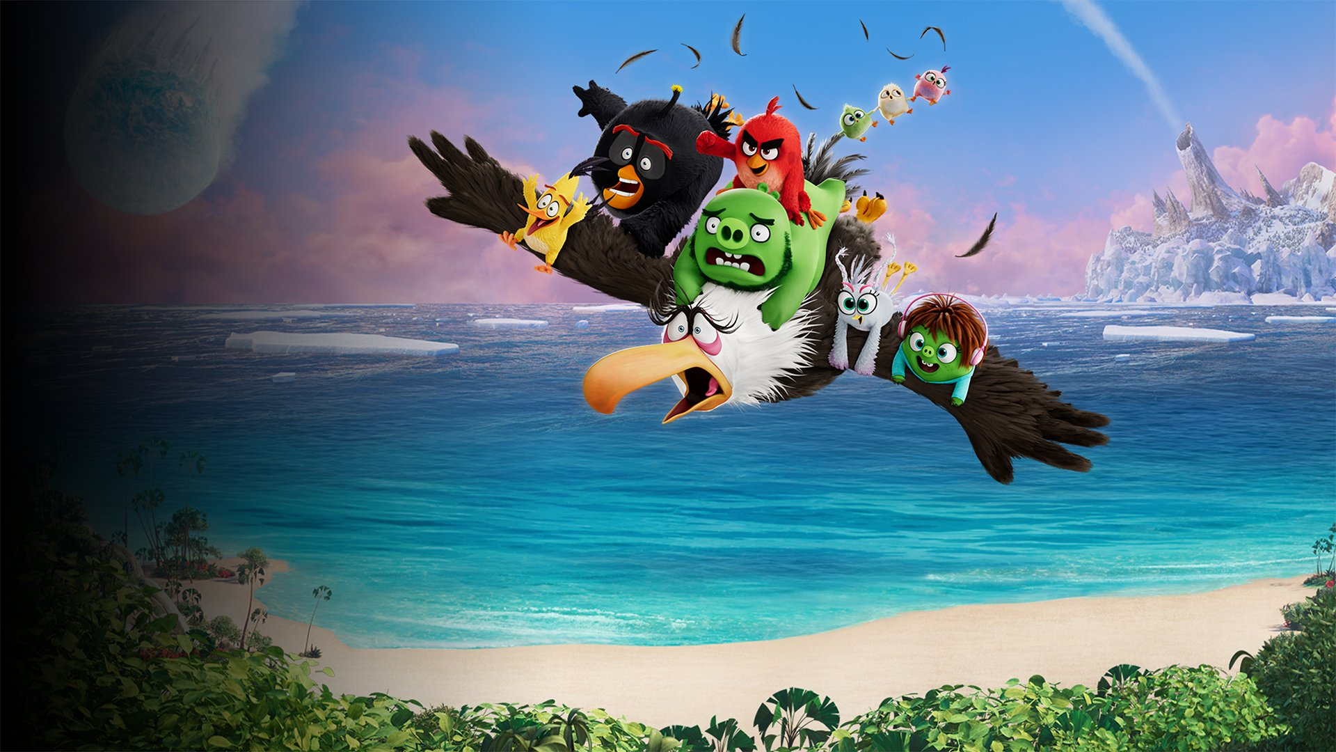 fond Angry Birds : Copains comme cochons - Extrait 1