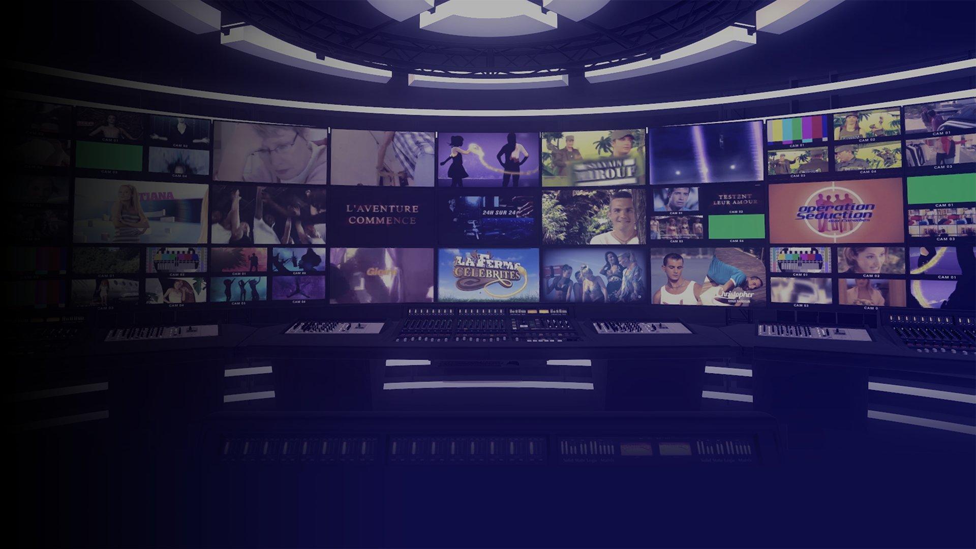 fond Les 20 ans de la téléréalité