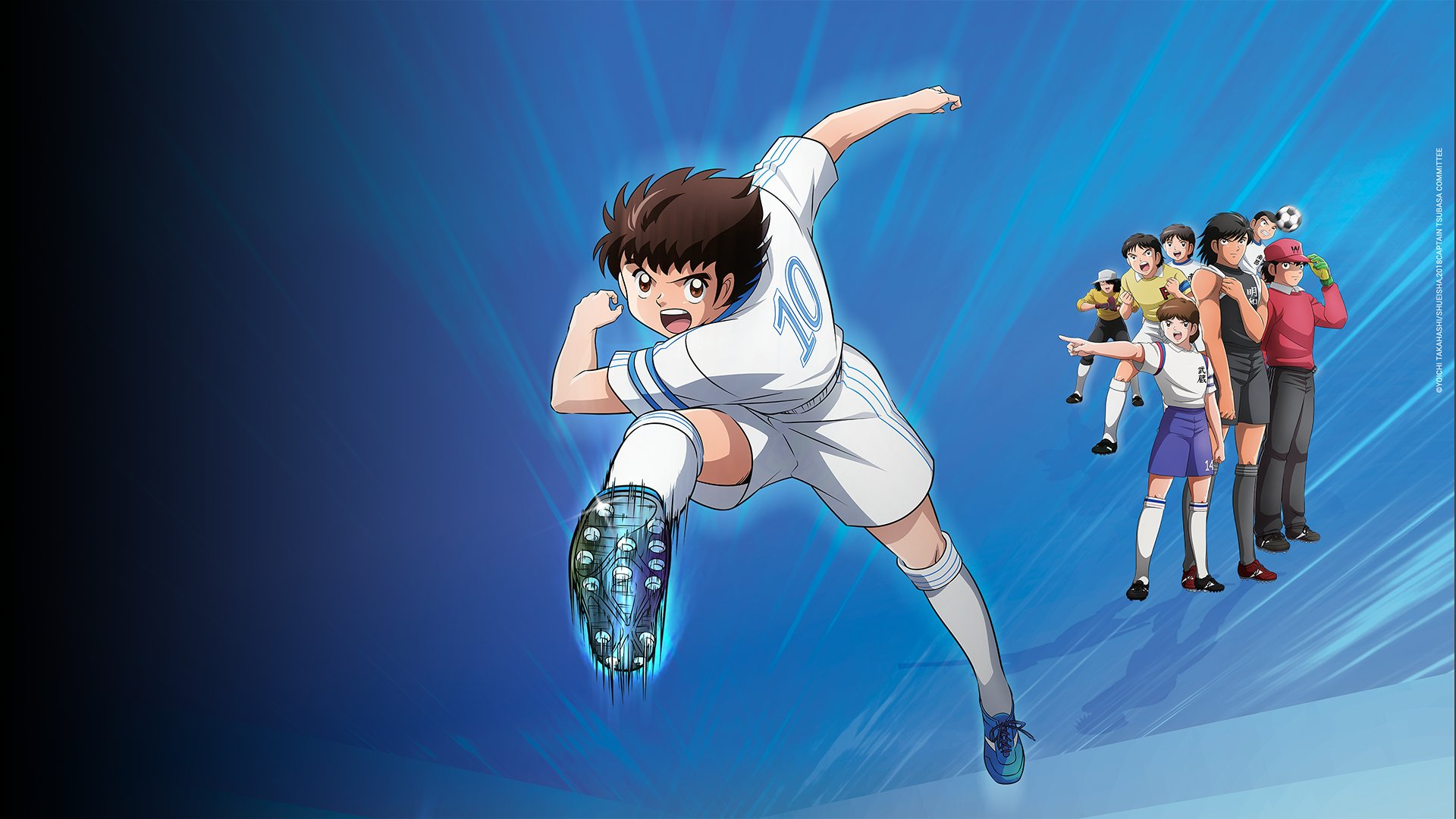 fond Captain Tsubasa - Episode 16  - Un Football acrobatique !