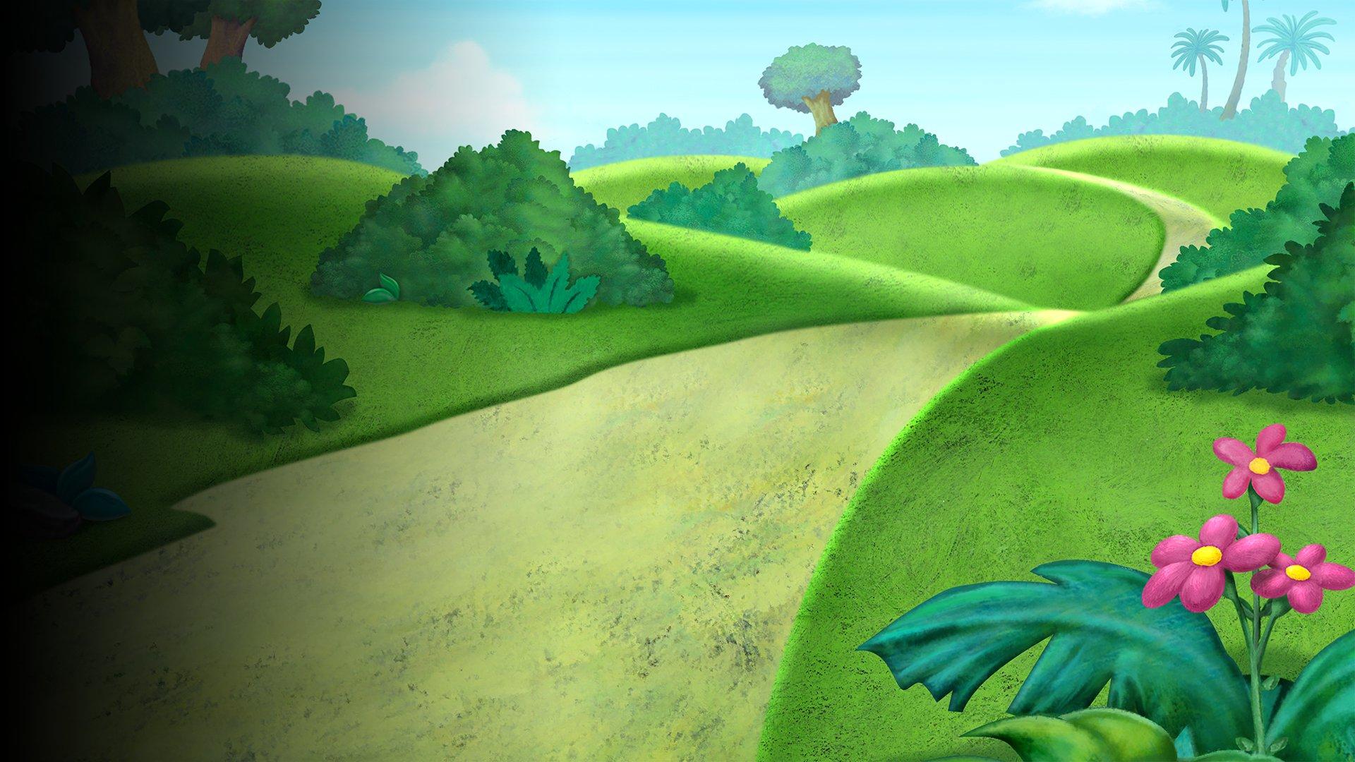 fond Dora l'exploratrice - Danse, Dora, danse  ! - Extrait