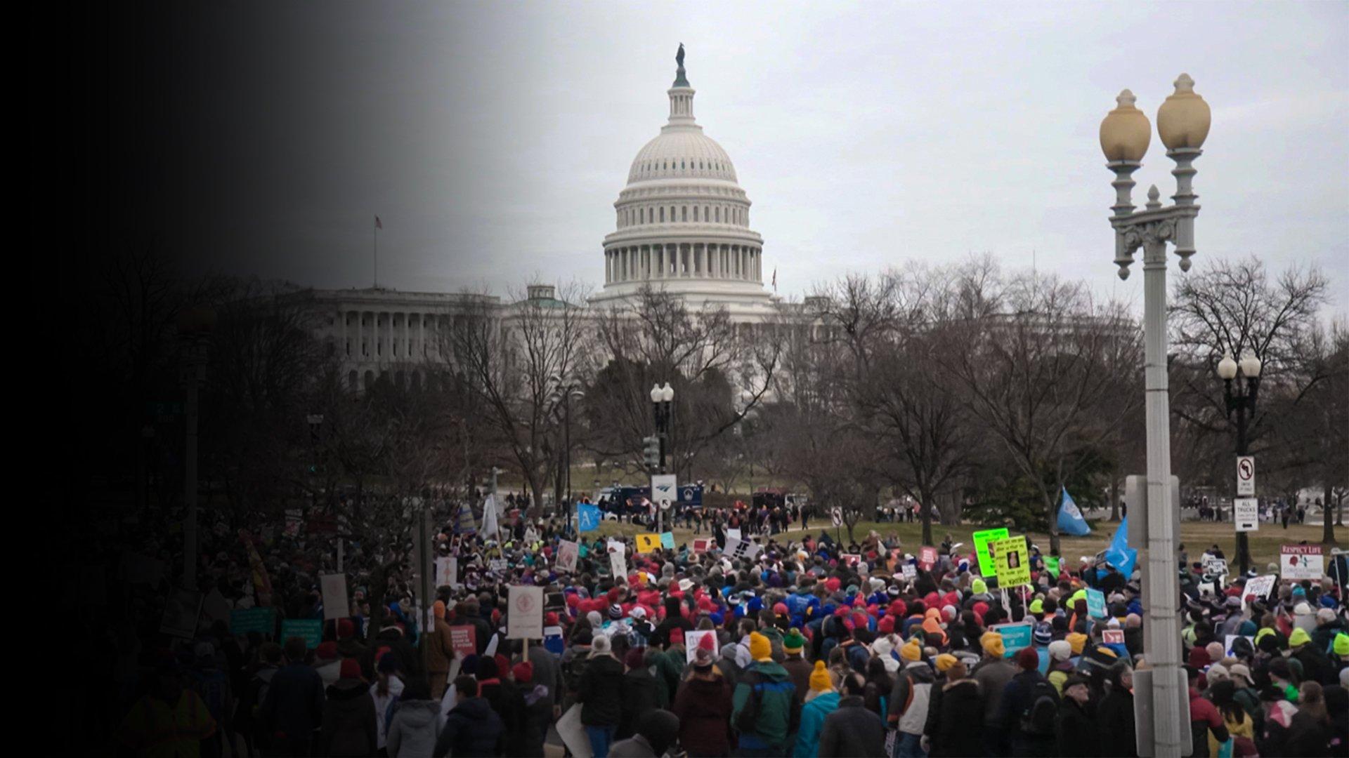 """fond L'armée des """"Trumpettes""""  à la conquête de l'électorat féminin"""