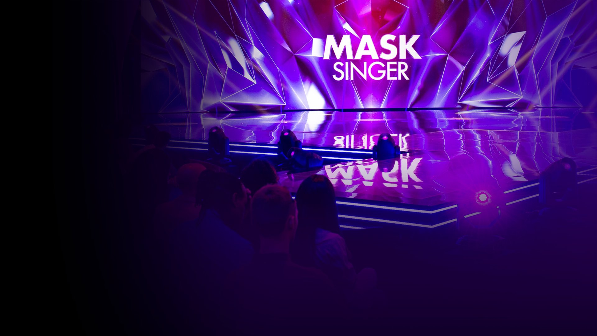 fond Mask Singer - Abeille chante « It's oh so quiet » de Björk