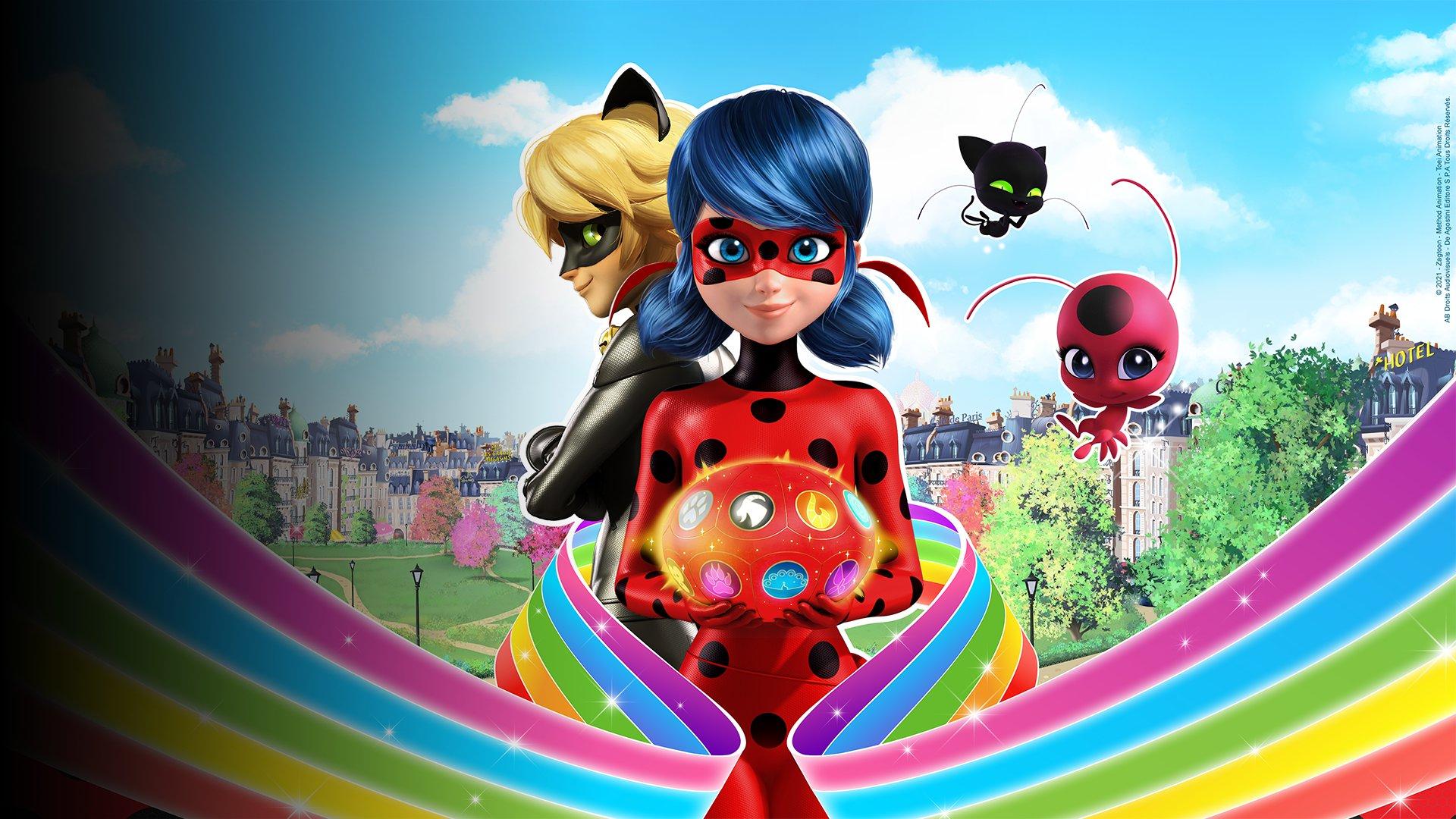 fond Miraculous Les secrets - EP10 - Ladybug vue par Adrien