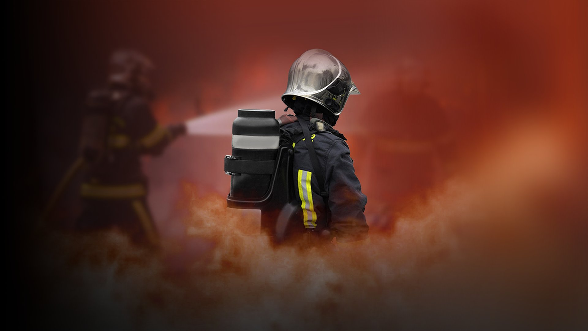 fond Pompiers : leur vie en direct