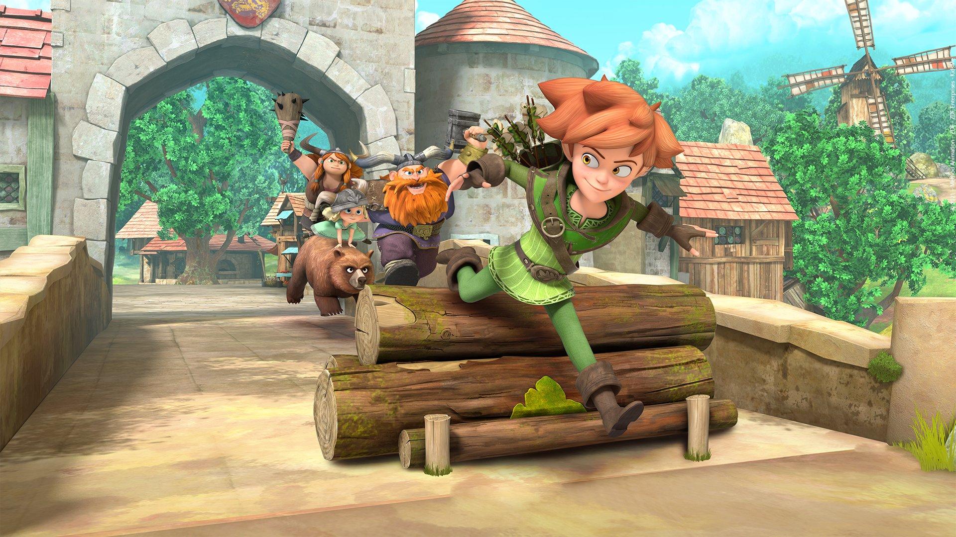 fond Robin des Bois - saison 3 - Le Prince Jean