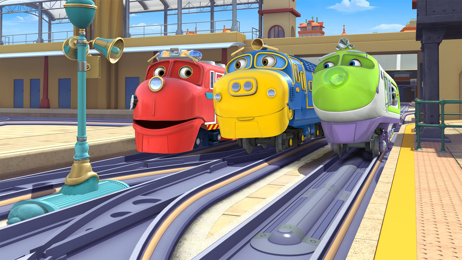 fond Chuggington