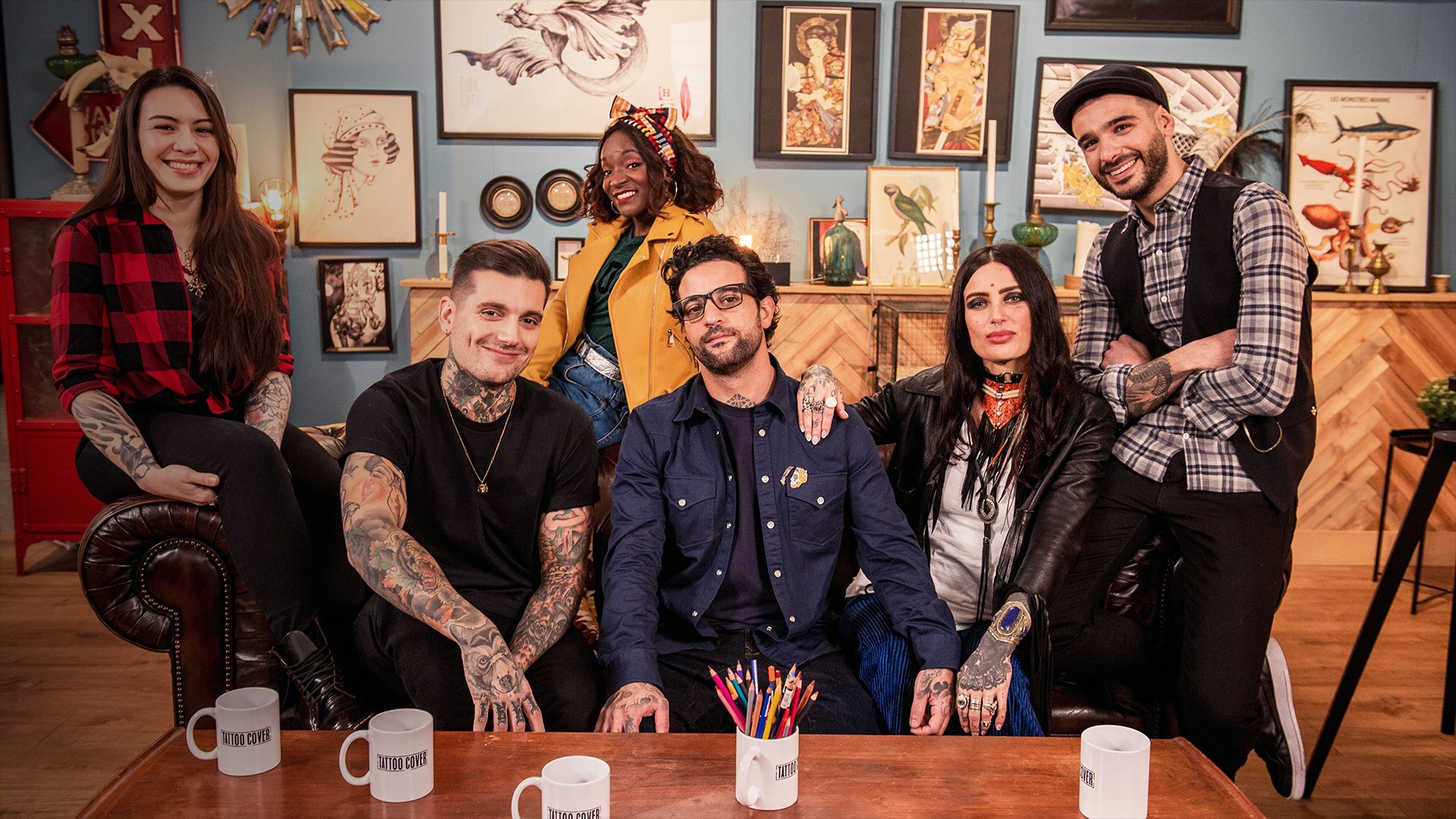 fond Tattoo Cover : Sauveurs de tatouages - Episode du 29 avril 2021