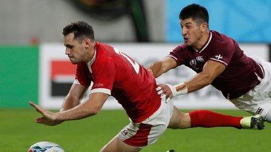 Les 4 statistiques à retenir du match Pays de Galles – Géorgie