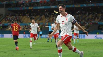 Espagne - Pologne (1-1) / Lewandowski donne des maux de tête à la Roja