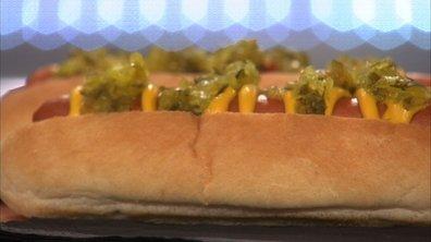 Hot dog new-yorkais