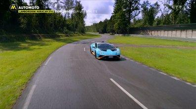 Lamborghini Huracan STO, concerto pour une athlète