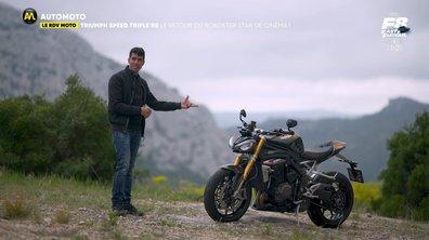 RDV Moto - Triumph Speed Triple RS, le retour du roadster star de cinéma !