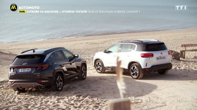 Duel - Citroën C5 Aircross VS Hyundai Tucson : quelle solution hybride choisir ?