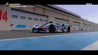 """EXCLU - Et Bugatti créa le """"bolide"""""""