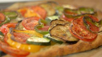 Tarte aux légumes d'été