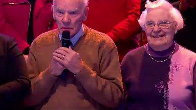 Un couple fête ses 65 ans de mariage sur le plateau des 12 Coups de Midi !