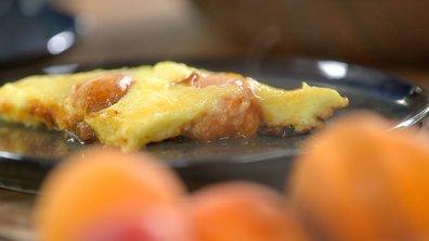 Clafoutis d'abricot à la poêle